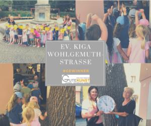 Erster Platz für den Kindergarten Wohlgemutstraße