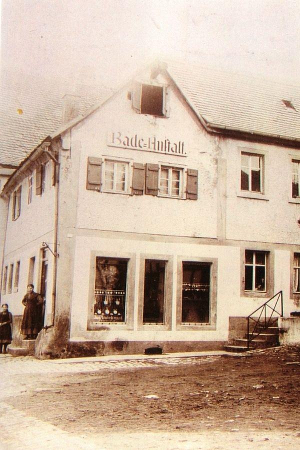 haus museumstraße 16 feuchtwangen um 1907 foto privatarchiv familie gutekunst