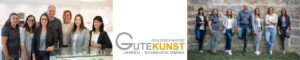 Team Gutekunst Uhren-Schmuck GmbH im Laden und im Nixelgarten Feuchtwangen Foto: Susen Uhl