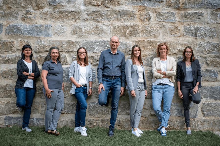 Team Gutekunst im Nixelgarten Feuchtwangen Foto: Susen Uhl