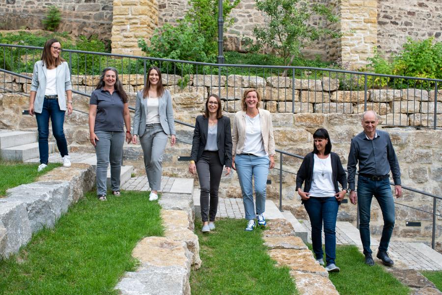 Team Gutekunst im Nixelgarten in Feuchtwangen Foto: Susen Uhl