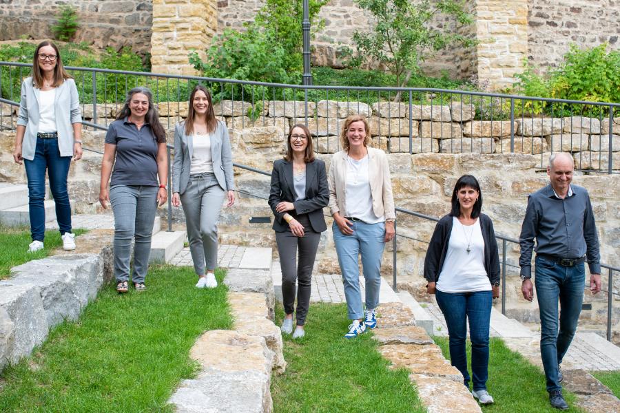Team Gutekunst im Nixelgarten in Feuchtwangen